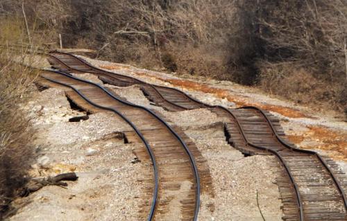 wavy track