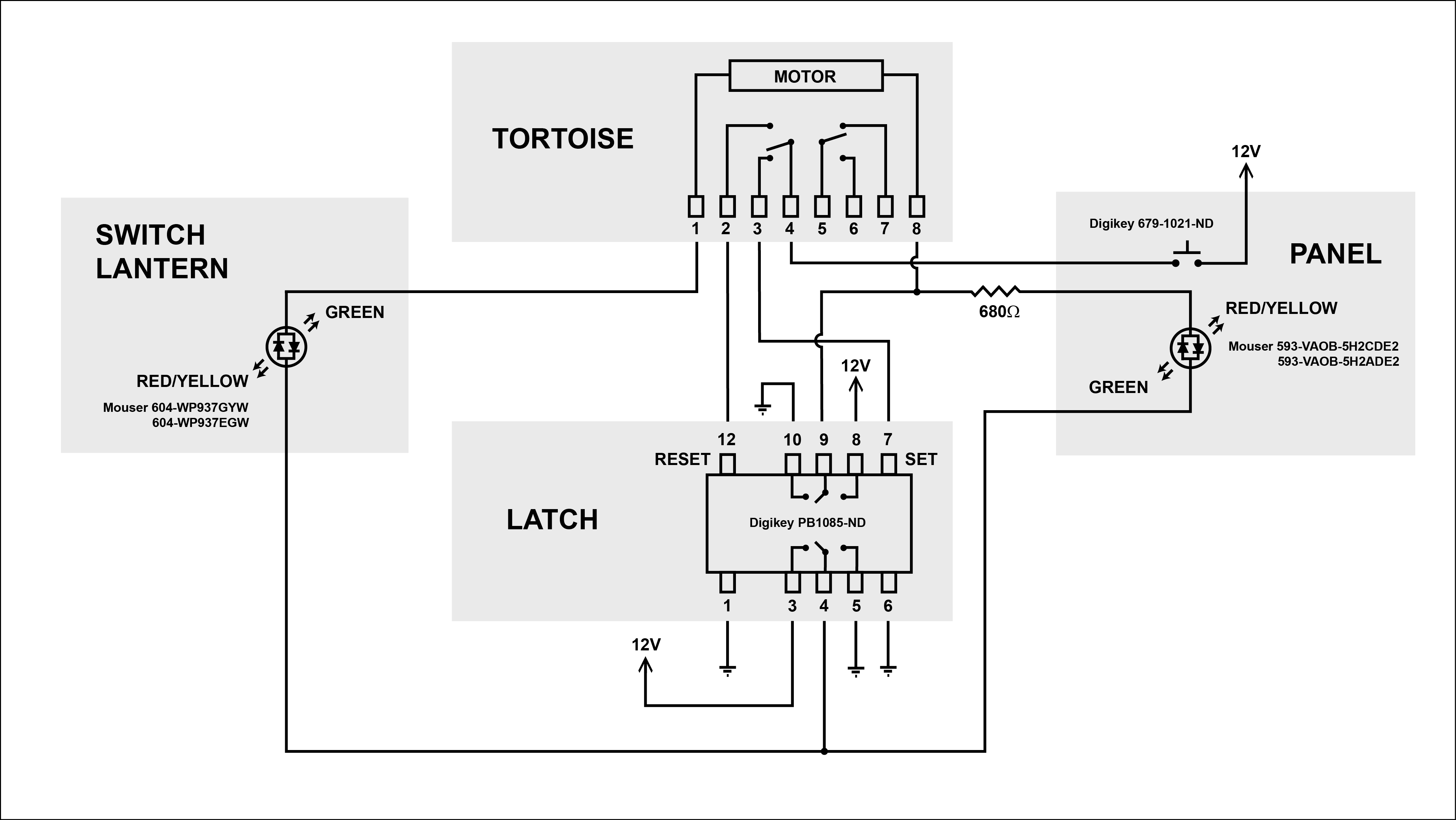 Tortoise Wiring Led Switch 8 Diagrams Dcc Machine Diagram Machines With Get Free Signals